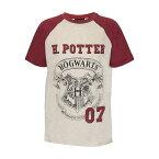 (ハリー・ポッター) Harry Potter オフィシャル商品 子供用 ホグワーツ 紋章 半袖 Tシャツ 男の子 【楽天海外直送】