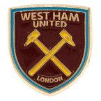 ウェストハム・ユナイテッド フットボールクラブ West Ham United FC オフィシャル商品 バッジ サッカー ピンバッジ 【楽天海外直送】