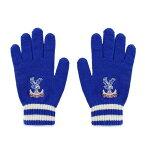 クリスタル・パレスFC フットボールクラブ Crystal Palace FC オフィシャル商品 メンズ ニット手袋 グローブ 【楽天海外直送】