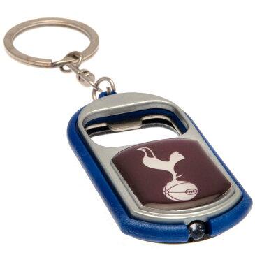 トッテナム・ホットスパー フットボールクラブ Tottenham Hotspur FC オフィシャル商品 トーチ/栓抜き キーリング キーホルダー サッカー 【楽天海外直送】