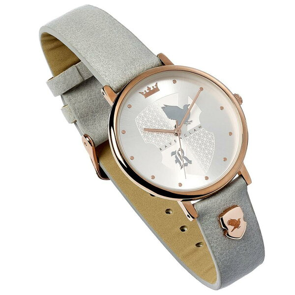(ハリー・ポッター)HarryPotterオフィシャル商品レディースレイブンクローレザーアナログ腕時計リストウォッチ 海外直送