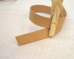 バッグの持ち手やタグ作りにどうぞ〜本皮テープ(20ミリ)【革テープ】