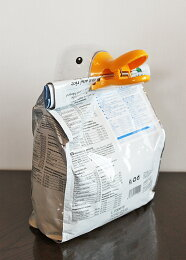 【アヒル小物】可愛いアヒルの袋閉じ(袋クリップ)♪(アヒルドライフフードフード袋酸化防止袋を閉じるクリップ計量計量カップお米一合)