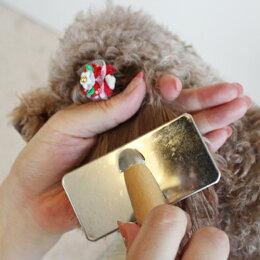 【最安値に挑戦】スリッカーブラシソフトタイプ[小サイズ](岡野製作所)(犬いぬ猫ねこペットコームブラシアンダーコートブラッシングおすすめ簡単楽初心者清潔毛玉ほつれもつれほぐしフワフワ高品質ステンレス製日本製使いやすい気持ちいい)