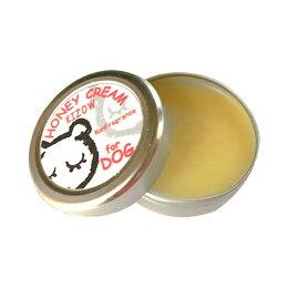【犬猫肉球ケア】KIZOW(キゾウ)ハニークリーム(無香料)(肉球クリーム肉球保護パウケアいぬイヌ犬の肉球ねこネコ猫の肉球ケア用品ペット用)