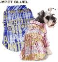 【犬 服 夏服 ドッグウェア ドッグウエア 犬用】ロゴ入りチェックシャツ【LovableDog】【コンビニ受取対応商品】【メール便OK】※セール商品につき、返品、お取り換えはできません その1
