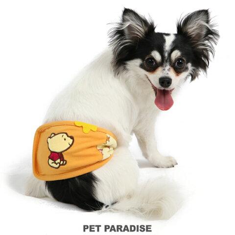 ディズニーくまのプーさん ポップ総柄 マナーベルト【小型犬】 | おむつ オムツカバー 抗菌 防臭 キャラクター メール便可