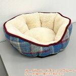 【クーポン】ペットベッドペット用品オーバルベッドS、M【犬猫ベッド】【犬用品・猫用品/クッション】【ペットベットペットソファペットベッド犬ベット洗えるもこもこクッション】