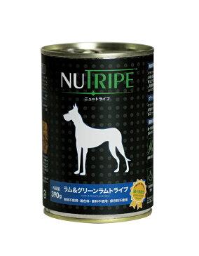 【正規品】ニュートライプ ラム&グリーントライプ 390g/1缶【L】 JAN:8885003135032