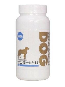 全【関東限定】【代引・同梱不可】<日本全薬>ゼンラーゼ-U DOG(ドッグ) 500粒