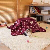 ドギーマン遠赤外線ペットの夢こたつ(本体・ふとんセット)犬・猫用秋冬【同梱不可】