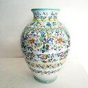 陶器製■スペイン製■トレド花瓶 フラワーダンス