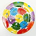 ■スペイン陶器■ハエン 絵皿 フラワー