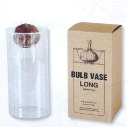 ■ヒヤシンスにお洒落に球根水耕栽培ガラス瓶。 BULB VASE RONG ロングタイプ 水耕栽培用ポット KEGY4070