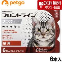 猫フロントラインプラス6ピペット(動物用医薬品)