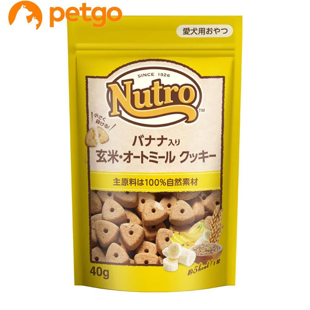 ニュートロ バナナ入り 玄米・オートミール クッキー 40g【あす楽】