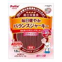 ペティオ 毎日健やかバランスジャーキー スティック 1.6kg 国産 日本製 犬用おやつ ジャーキー 総合栄養食 ロング イヌ 1歳〜 全犬種 毎日の健康のために、1日に必要な栄養素をバランスよく配合した、風味豊かなジャーキー Petio