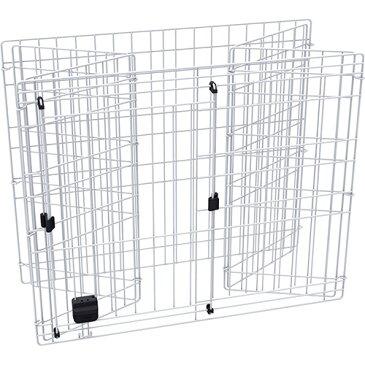 アドメイト ヴィラフォートキャットサークル 専用拡張フェンス 猫用 サークル 金属 猫 ネコ ヴィラフォートキャットサークルを2段タイプから3段タイプに ヴィラフォートキャットサークルを3段タイプに拡張する専用のフェンス Add.Mate