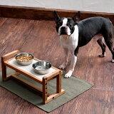 ペティオ Porta ポルタ ウッディドッグテーブル 食器 食事台 木製 犬 高さと角度を変えられる 短毛犬 長毛犬 Petio
