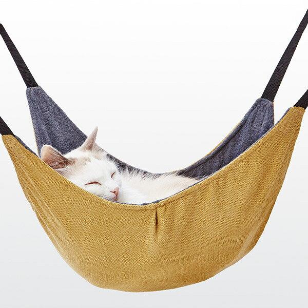 アドメイト 包まれにゃんモック イエロー 黄 ハンモック 本体 猫 ねこ ネコ ゆらゆらカラダが包まれてリラックス Add.mate