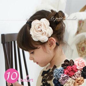 ※立体フラワーがとっても可愛い♪フェミニン&上品なカチューシャ♪ 【韓国 子供服】【韓国子供服…