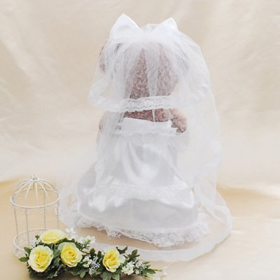 豪華7点特典付きダッフィー&シェリーメイ用ウェディングドレス&タキシードペアセット※ぬいぐるみ本体は別売りとなります