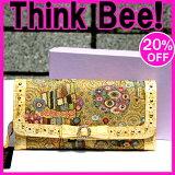 シンクビー【シンクビー財布Think Bee!】ゴールデンクリムト 長財布 Think Bee! (シンクビー!)(レターパックライト不可)
