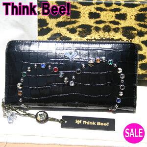 シンクビー【シンクビー財布Think Bee!】ミラノ ラウンド長財布 Think Bee! (シンクビー!)A000749