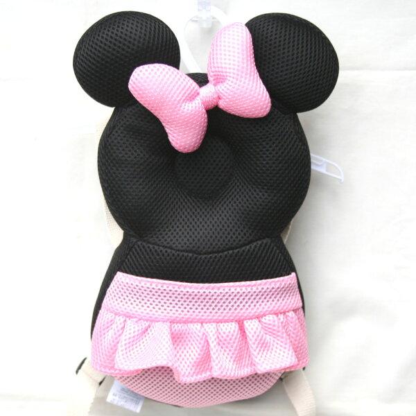 赤ちゃんあたまディズニー転倒防止頭を守るガードよちよちリュック【ミニーマウス】