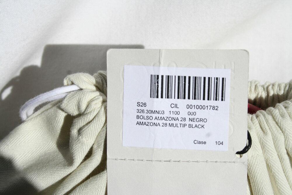 ロエベ (ロエベ) LOEWE ハンドバッグ(2WAY仕様) AMAZONA28/アマソナ28 MULTIP 正規品 [並行輸入品] NEGRO 326.30.MN03