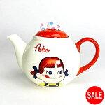 ペコちゃんティーポット食器クリーム2142-san3547