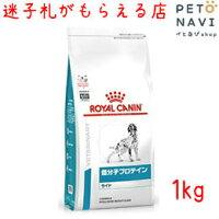 【迷子札プレゼント】[療法食]ロイヤルカナン犬用低分子プロテインライト1kg【震災対策】