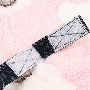 ふんわりしろくまパスモック(マジックテープ付き)(F1) フェレット ハンモック 寝袋 ナスカン無し 金具無し 冬用 秋用  コットン カジュアル もぐれる