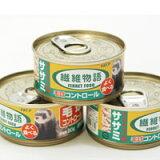 ニチドウ 繊維物語 フェレット用ササミ缶 80g フェレット フード フェレットフード ベビー アダルト エサ えさ 餌
