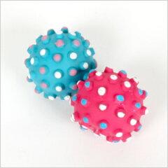 デコボール フェレット/おもちゃ/ラテックス/小さい/SS
