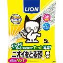 【SALE】[7000円以上お買い上げで送料無料]ペットキレイ ニオイをとる砂 5L