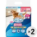 【セット販売】マナーウェア 長時間オムツ 小型犬用 Sサイズ デニム&ドット 30枚入×2コ