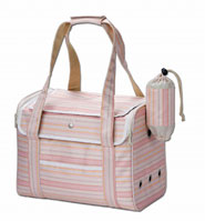 【マルカン小動物おでかけ用品】うさぎのおでかけバッグ L ピンク
