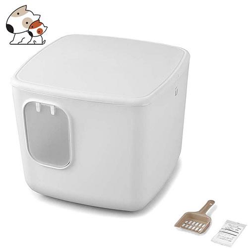 アイリスオーヤマ『散らかりにくい猫トイレ キューブ型(CCLBー500)』