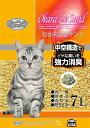 【猫トイレ】【猫砂】コーチョー おからDEサンド 7L 【東北復興_福島県】