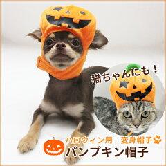 【新商品】変身 帽子 ハロウィン パンプキン帽子 S・M【犬 ハロウィン】