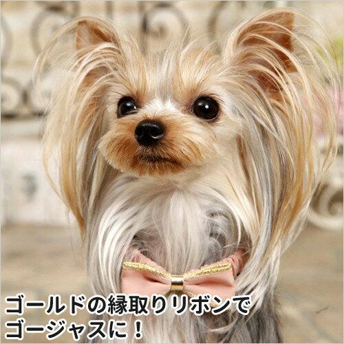 【メール便対応】PANOPLY ポーラリボン・ネックレス ブルー/ピンク/ホワイト 犬猫用 首輪 カラー