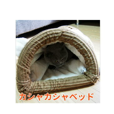 【大特価!】【猫 ベッド】フォーユー カシャカシャベッド インテリア ベッド 寝具 おもちゃ 寝袋