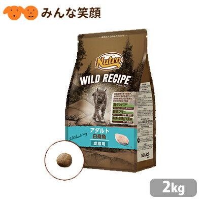 ニュートロ キャット ワイルドレシピ アダルト 白身魚 成猫用 2kg キャットフード ドライフード