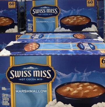 コストコ #591632 SWISSMISS MARSHMALLOW スイスミス ミルクチョコレートココア(マシュマロ入り)60袋入り【Z】