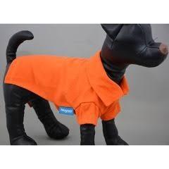 【なごみ】セール特価10%off ペット用 スタンダード ポロシャツ 7号 色:7オレンジ JAN:4580418466514【T】