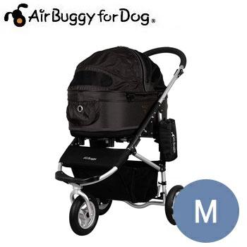 【ポイント10倍】AirBuggyforDog(エアーバギー) ドーム2スタンダードモデルセット M ブラック【キャリーバッグ/キャリーカート/ペットバギー/ペットカート】【犬用品・犬/ペット用品・ペットグッズ】:ペット用品と雑貨のペットウィル