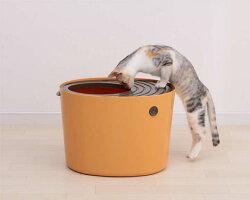 【エントリーでポイント5倍】上から猫トイレプチPUNT430ホワイト・オレンジアイリスオーヤマ散らからない掃除フルカバーネコトイレネコ上から上から入る上から入る猫トイレ上から猫トイレボックスBOXトイレ楽天≪現在の当店オススメ≫犬の日