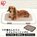犬 トイレ ペットトイレ トイレトレー アイリスオーヤマ フチもれしにくいトレーニングペットトレー FTT-635 [ペットトレー ペットトイレ 消臭] 楽天 犬 猫 トイレ しつけ ペット