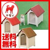 ボブハウス L ドア無し (体高49cmまで) 中型犬 犬舎 犬小屋 プラスティック製 ハウス おうち 屋外 野外 室外 アイリスオーヤマ 楽天 あす楽